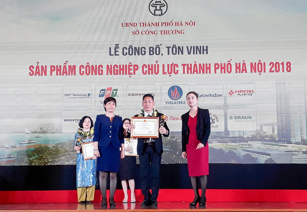 CADI-SUN – Sản phẩm công nghiệp chủ lực thành phố Hà Nội 2018