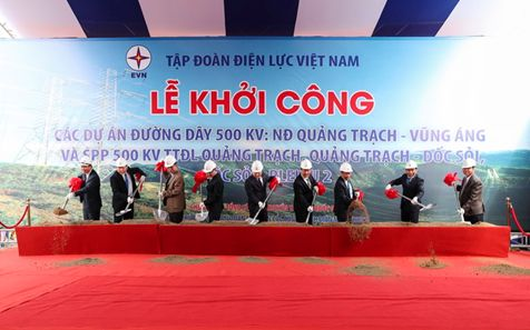 CADI-SUN participated in Package of the 500 kV Transmission Line Quang Trach - Quang Binh Thermal Power Plant