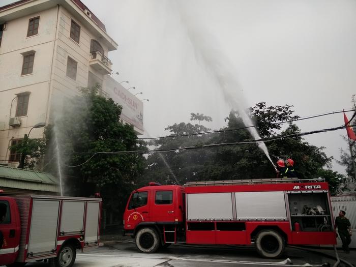 Tập huấn công tác Phòng cháy chữa cháy năm 2016