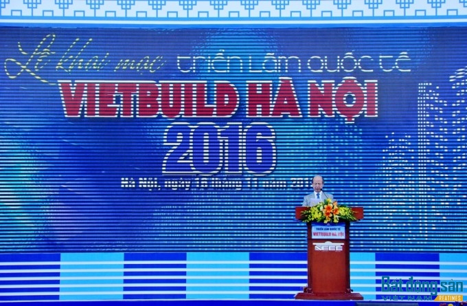 Tưng bừng khai mạc Triển lãm quốc tế Vietbuild Hà Nội 2016